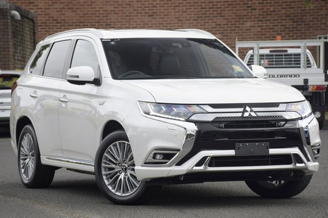 Demonstrator, Demo, Near New Mitsubishi Outlander PHEV AWD Exceed, Bowen Hills, 2019 Mitsubishi Outlander PHEV AWD Exceed Wagon