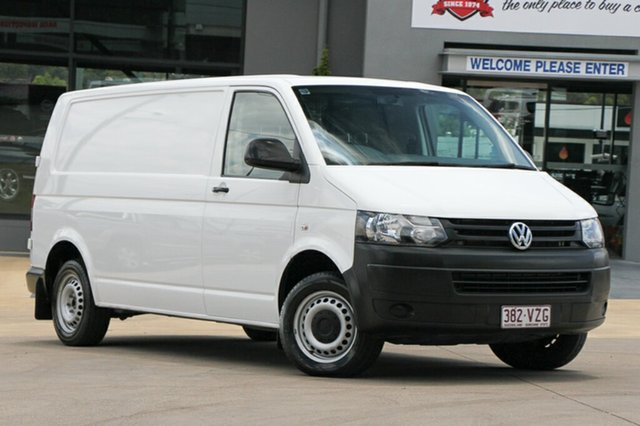 Used Volkswagen Transporter TDI340 SWB DSG, Indooroopilly, 2015 Volkswagen Transporter TDI340 SWB DSG Van