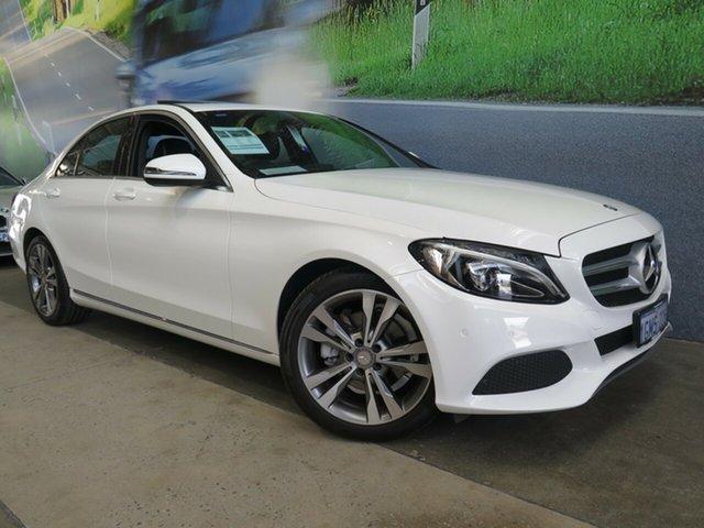 Used Mercedes-Benz C200 7G-Tronic +, Osborne Park, 2016 Mercedes-Benz C200 7G-Tronic + Sedan
