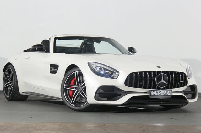 Demonstrator, Demo, Near New Mercedes-Benz AMG GT C SPEEDSHIFT DCT, Warwick Farm, 2018 Mercedes-Benz AMG GT C SPEEDSHIFT DCT Roadster