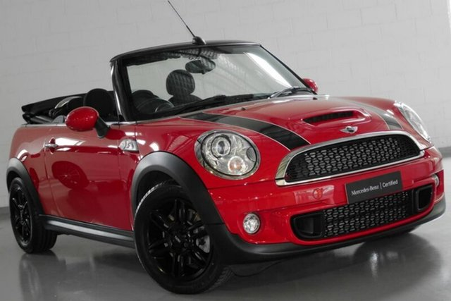 Used Mini Convertible Cooper S, Warwick Farm, 2015 Mini Convertible Cooper S Convertible