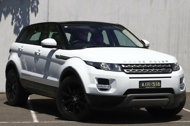 Used Land Rover Range Rover Evoque TD4 Pure, Malvern, 2014 Land Rover Range Rover Evoque TD4 Pure Wagon