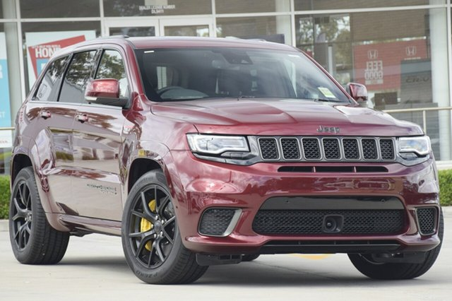 Discounted New Jeep Grand Cherokee Trackhawk, Narellan, 2018 Jeep Grand Cherokee Trackhawk SUV
