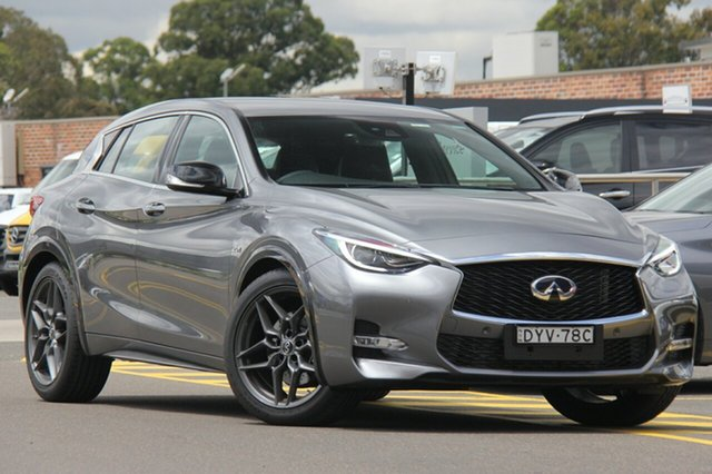 Discounted Demonstrator, Demo, Near New Infiniti Q30 Sport D-CT, Warwick Farm, 2018 Infiniti Q30 Sport D-CT Wagon