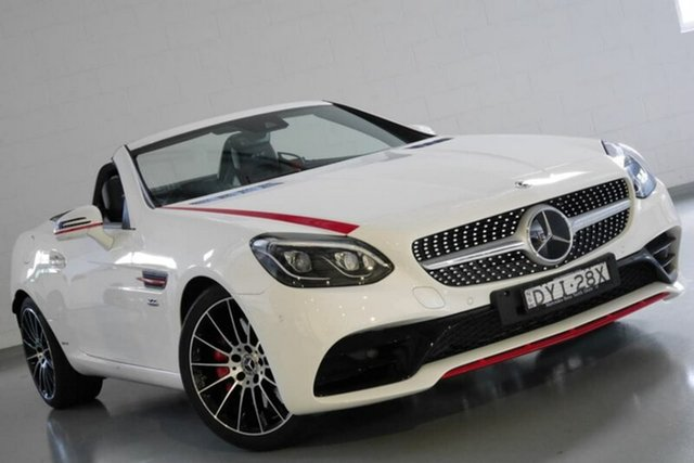 Used Mercedes-Benz SLC300 9G-Tronic, Southport, 2017 Mercedes-Benz SLC300 9G-Tronic Roadster