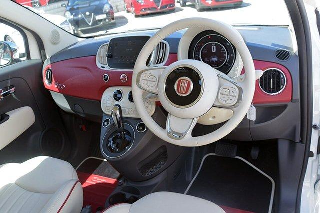 Demonstrator, Demo, Near New Fiat 500 Anniversario Dualogic, Southport, 2017 Fiat 500 Anniversario Dualogic Hatchback
