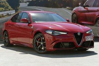 2017 Alfa Romeo Giulia Quadrifoglio Sedan.