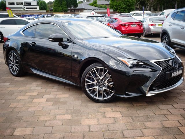Discounted Used Lexus RC RC350 F Sport, Warwick Farm, 2018 Lexus RC RC350 F Sport Coupe