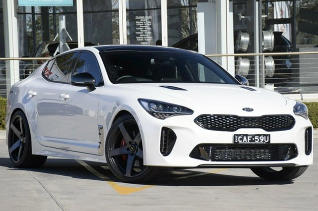 Discounted Demonstrator, Demo, Near New Kia Stinger GT Fastback, Warwick Farm, 2018 Kia Stinger GT Fastback Sedan