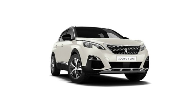 Demonstrator, Demo, Near New Peugeot 3008 GT Line SUV, Nambour, 2018 Peugeot 3008 GT Line SUV P84 MY18 Hatchback