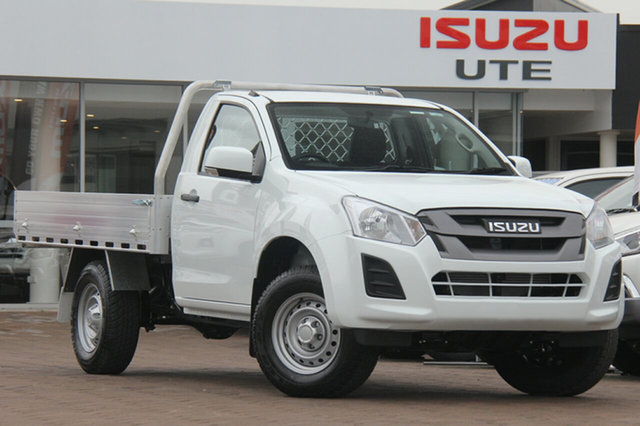 New Isuzu D-MAX SX 4x2 High Ride, Narellan, 2019 Isuzu D-MAX SX 4x2 High Ride Cab Chassis