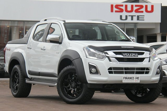 Discounted Demonstrator, Demo, Near New Isuzu D-MAX LS-T Crew Cab, Southport, 2018 Isuzu D-MAX LS-T Crew Cab Utility
