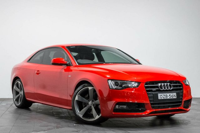 Used Audi A5 S tronic quattro, Rozelle, 2016 Audi A5 S tronic quattro Coupe