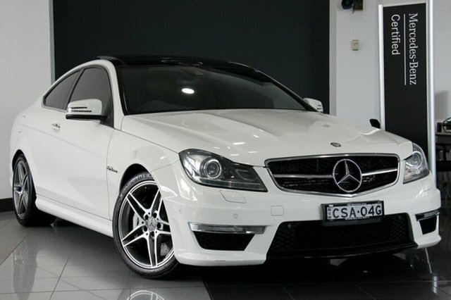 Used Mercedes-Benz C63 AMG SPEEDSHIFT MCT, Warwick Farm, 2011 Mercedes-Benz C63 AMG SPEEDSHIFT MCT Coupe