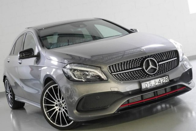 Used Mercedes-Benz A250 Sport D-CT 4MATIC, Warwick Farm, 2017 Mercedes-Benz A250 Sport D-CT 4MATIC Hatchback