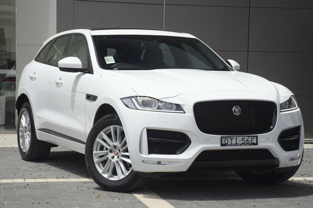 Demonstrator, Demo, Near New Jaguar F-PACE 25d AWD R-Sport, Narellan, 2017 Jaguar F-PACE 25d AWD R-Sport SUV