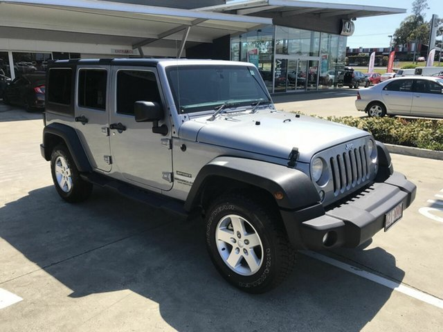 Discounted Used Jeep Wrangler Unlimited Sport, Yamanto, 2015 Jeep Wrangler Unlimited Sport Softtop