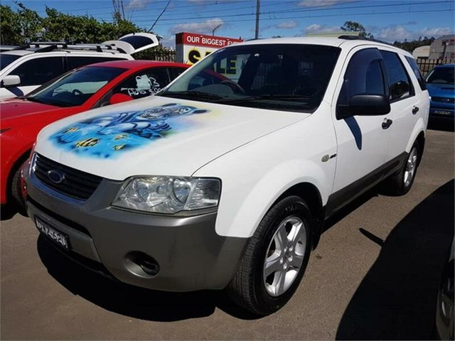 Used Ford Territory TS AWD, Campbelltown, 2004 Ford Territory TS AWD Wagon