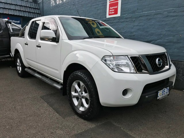 Discounted Used Nissan Navara ST (4x4), Hobart, 2013 Nissan Navara ST (4x4) Dual Cab Pick-up