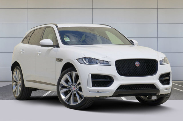 Discounted Demonstrator, Demo, Near New Jaguar F-PACE 25T R-Sport, Southport, 2017 Jaguar F-PACE 25T R-Sport Wagon