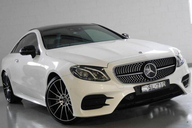 Used Mercedes-Benz E220 d 9G-TRONIC PLUS, Warwick Farm, 2017 Mercedes-Benz E220 d 9G-TRONIC PLUS Coupe