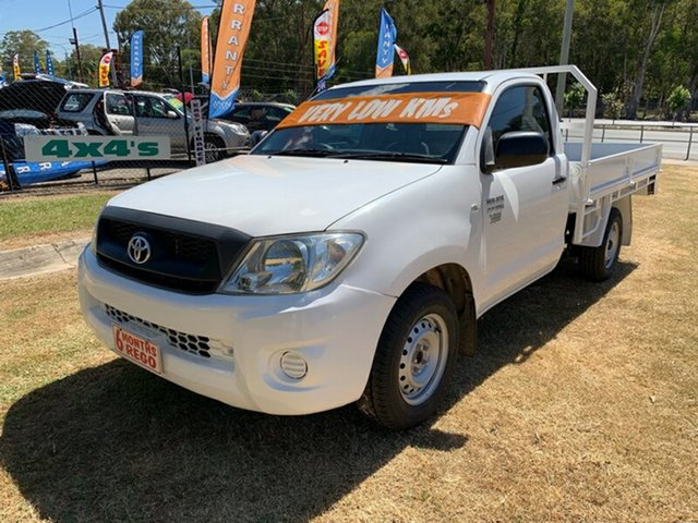 Used Toyota Hilux Workmate, Clontarf, 2010 Toyota Hilux Workmate Dual Cab Pick-up
