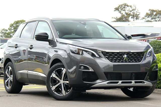 Discounted Demonstrator, Demo, Near New Peugeot 3008 GT Line SUV, Bowen Hills, 2019 Peugeot 3008 GT Line SUV Hatchback