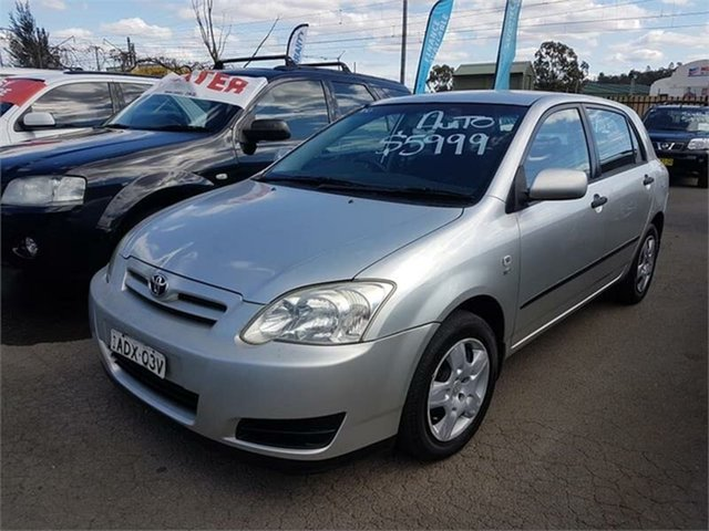 Used Toyota Corolla Ascent, Campbelltown, 2005 Toyota Corolla Ascent Hatchback