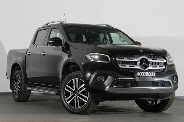 Demonstrator, Demo, Near New Mercedes-Benz X-Class X250d 4MATIC Power, Southport, 2018 Mercedes-Benz X-Class X250d 4MATIC Power Utility