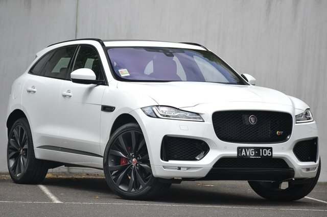 Demonstrator, Demo, Near New Jaguar F-PACE 30d AWD S, Malvern, 2018 Jaguar F-PACE 30d AWD S Wagon