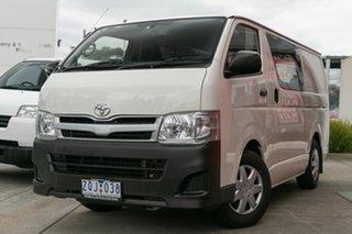 Used Toyota Hiace LWB, Mulgrave, 2013 Toyota Hiace LWB TRH201R MY12 Upgrade Van