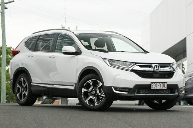 Demonstrator, Demo, Near New Honda CR-V VTi-LX 4WD, Indooroopilly, 2018 Honda CR-V VTi-LX 4WD Wagon