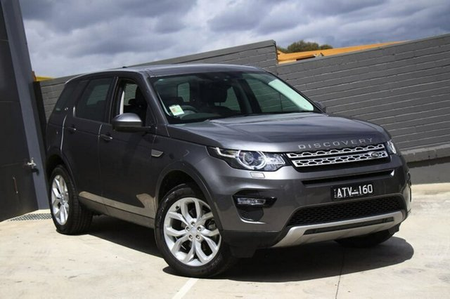 Demonstrator, Demo, Near New Land Rover Discovery Sport TD4 110kW HSE, Doncaster, 2018 Land Rover Discovery Sport TD4 110kW HSE Wagon