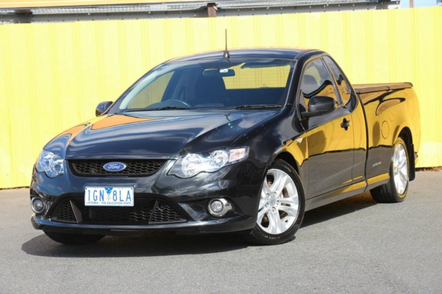 Discounted Used Ford Falcon XR6 Ute Super Cab EcoLPi, Cheltenham, 2011 Ford Falcon XR6 Ute Super Cab EcoLPi Utility