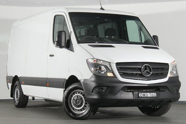 Demonstrator, Demo, Near New Mercedes-Benz Sprinter 313CDI Low Roof MWB 7G-Tronic, Narellan, 2018 Mercedes-Benz Sprinter 313CDI Low Roof MWB 7G-Tronic Van