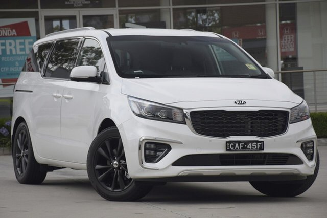 Discounted Demonstrator, Demo, Near New Kia Carnival Platinum, Southport, 2018 Kia Carnival Platinum Wagon