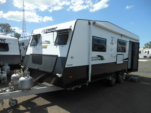 Used Olympic Javelin XL Kingfisher (OL4871), Pialba, 2016 Olympic Javelin XL Kingfisher (OL4871) Caravan