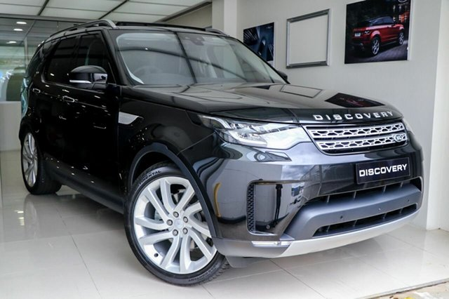 Demonstrator, Demo, Near New Land Rover Discovery TD6 HSE Luxury, Brookvale, 2017 Land Rover Discovery TD6 HSE Luxury Wagon