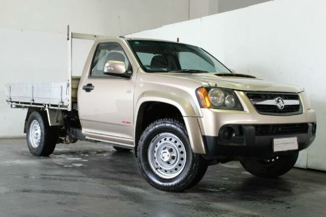 Used Holden Colorado LX, Underwood, 2008 Holden Colorado LX Cab Chassis