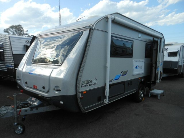 Discounted Used Jurgens Skygazer J2205, Pialba, 2017 Jurgens Skygazer J2205 Caravan