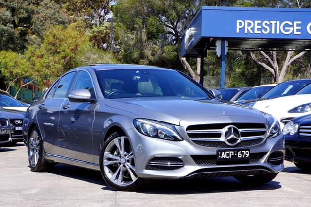 Used Mercedes-Benz C200 7G-Tronic +, Balwyn, 2014 Mercedes-Benz C200 7G-Tronic + Sedan