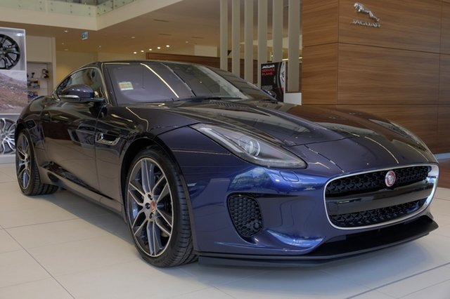 New Jaguar F-TYPE 250kW RWD, Newstead, 2018 Jaguar F-TYPE 250kW RWD Convertible