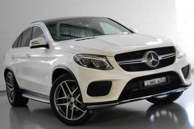 Used Mercedes-Benz GLE350 d Coupe 9G-Tronic 4MATIC, Warwick Farm, 2016 Mercedes-Benz GLE350 d Coupe 9G-Tronic 4MATIC Wagon