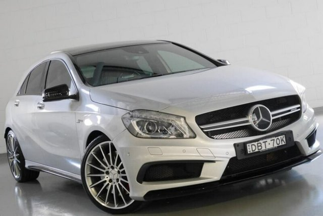Used Mercedes-Benz A45 AMG SPEEDSHIFT DCT 4MATIC, Warwick Farm, 2015 Mercedes-Benz A45 AMG SPEEDSHIFT DCT 4MATIC Hatchback