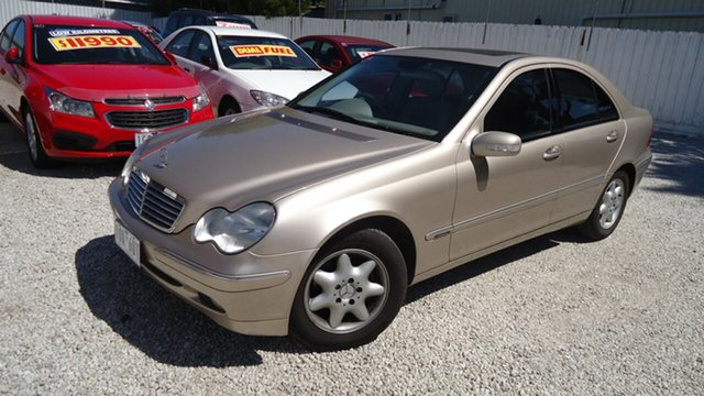 Used Mercedes-Benz C180 Kompressor Elegance, Seaford, 2003 Mercedes-Benz C180 Kompressor Elegance Sedan