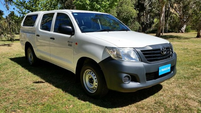 Used Toyota Hilux Workmate Double Cab 4x2, Tanunda, 2013 Toyota Hilux Workmate Double Cab 4x2 Utility
