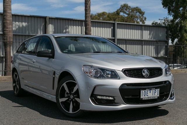 Used Holden Commodore SV6 Black Edition, Oakleigh, 2016 Holden Commodore SV6 Black Edition Vfii MY16 Sportswagon