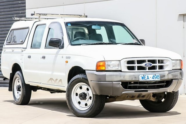 Used Ford Courier GL Crew Cab, Pakenham, 2002 Ford Courier GL Crew Cab Utility