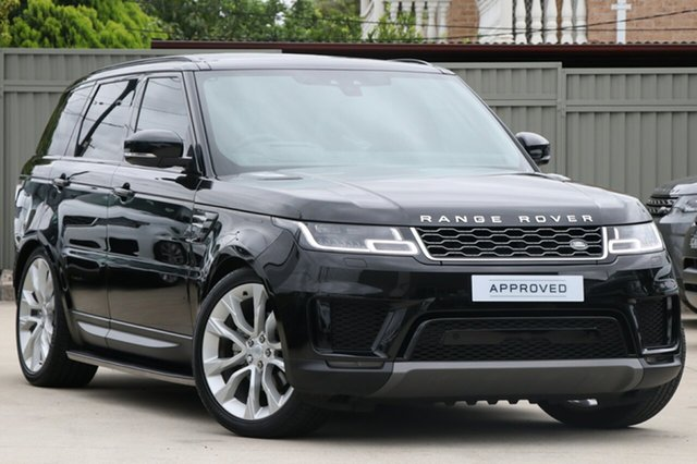 Used Land Rover Range Rover Sport SDV6 CommandShift SE, Blakehurst, 2017 Land Rover Range Rover Sport SDV6 CommandShift SE Wagon