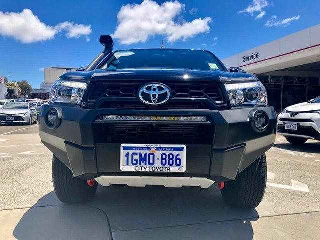 Demonstrator, Demo, Near New Toyota Hilux Rugged X Double Cab, Northbridge, 2018 Toyota Hilux Rugged X Double Cab Utility